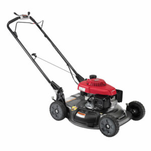 how to store lawn mower in garage